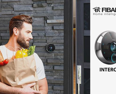 fibaro intercom خانه هوشمند صفحه نخست Fibaro intercom banner 495x400